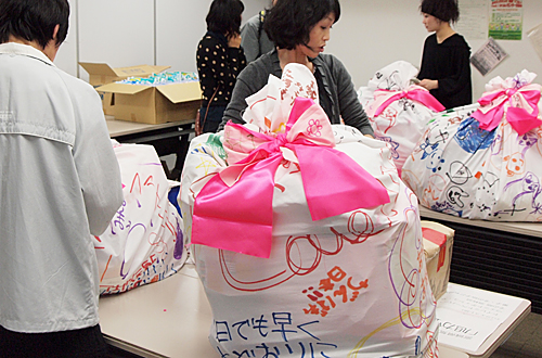 岡山の『想い』とともに大きな袋に応援物資を送ろう!!